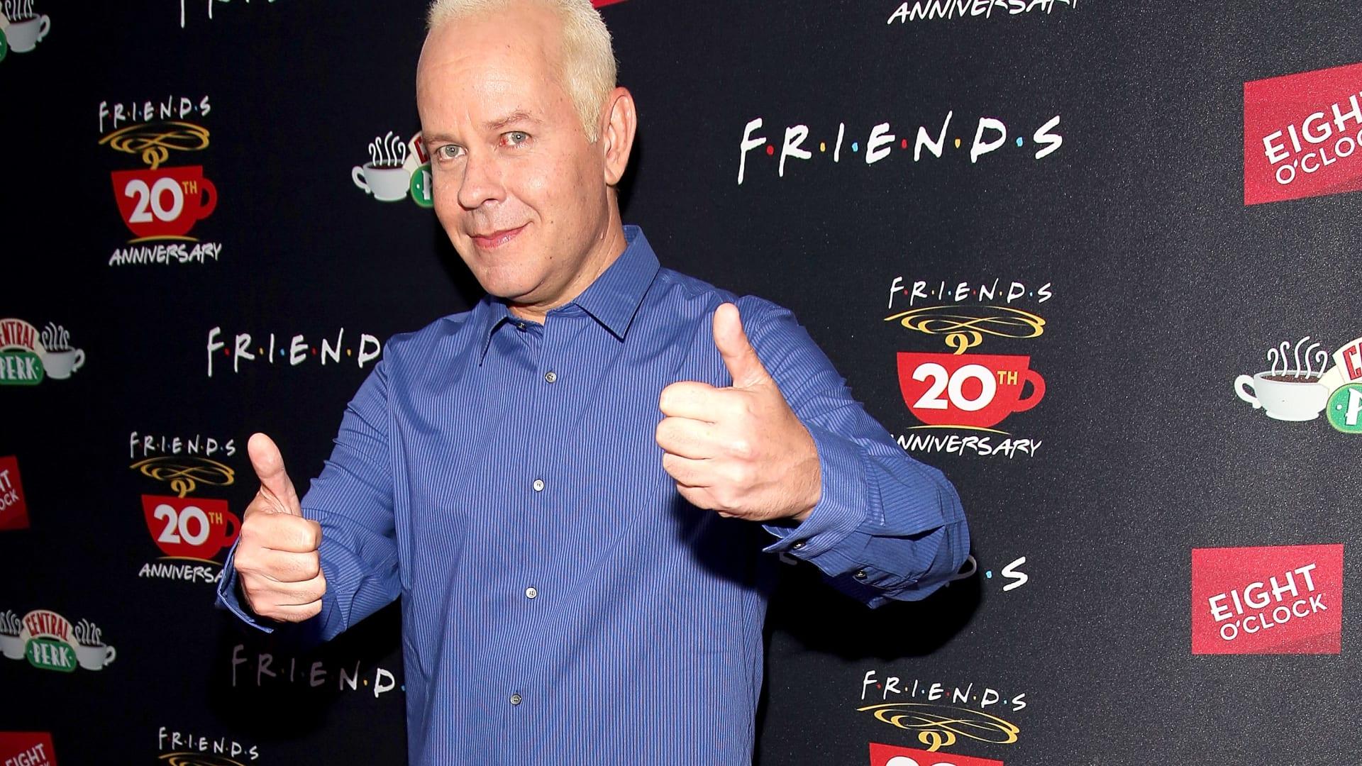 """الممثل جيمس مايكل تايلر أثناء الاحتفال بالذكرى العشرين لـ """"Friends"""" في 16 سبتمبر 2014 في مدينة نيويورك"""