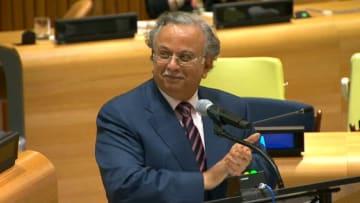 """شاهد.. لحظة إعلان """"قيادة المرأة بالسعودية"""" في الأمم المتحدة"""