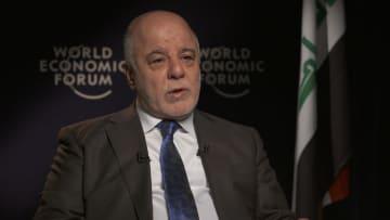 العبادي لـCNN: لا أفهم لماذا لا يتم القضاء على داعش في سوريا.. وهذا موقفنا من السعودية وإيران