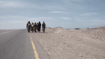 حصرياً على CNN.. رحلة المهاجرين من القرن الأفريقي إلى اليمن