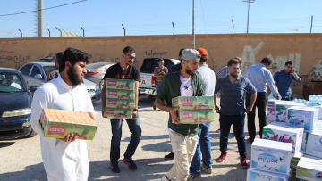 حملة مساعدات شعبية أردنية لأهالي درعا السورية