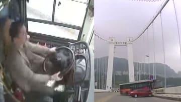 شاهد.. عراك داخل حافلة قبل لحظات من مقتل جميع الركاب