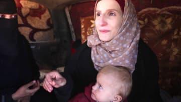 حصرياً.. ماذا يحدث لزوجات مقاتلي داعش والهاربين من التنظيم؟