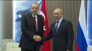 """""""مصير شرق سوريا"""" على أجندة اجتماع بوتين وأردوغان في سوتشي"""
