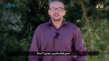 القاعدة في اليمن تنشر فيديو لرهينة أمريكي وتهدد بقتله خلال 3 أيام