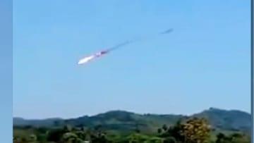 طائرتان تتصادمان خلال تدريبات جوية في ماليزيا