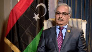 حفتر لـCNN: لن نتعاون مع أي عمل عسكري أوروبي بليبيا ويجب رفع الحظر عن الجيش