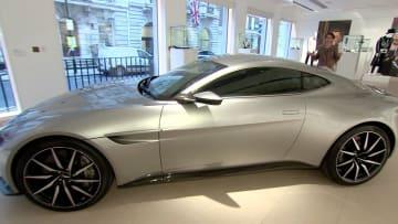 شاهد.. سيارة جيمس بوند الخارقة تنتظر مالكها الجديد