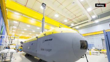 """بوينغ تكشف عن """"غواصة"""" يمكنها البقاء تحت الماء لأشهر.. والاستخدامات عسكرية واستطلاعية"""