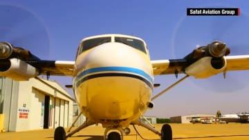 """مجموعة """"صافات"""".. أسطول طائرات صنع السودان يحمي الحدود ويعالج المحاصيل.. وأمل للمستقبل"""