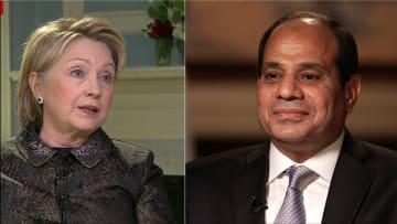 السيسي لـCNN: لا يوجد فرصة لأي ديكتاتوريات في مصر