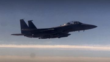 نظرة حصرية عبر كاميرا CNN على طائرات أمريكية تتجسس على داعش