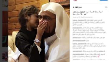 حزن سلمان العودة على زوجته وابنه لا يتوقف.. ومقال تذكر أيام السجن
