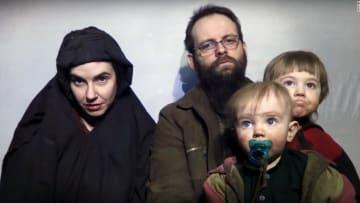 الإفراج عن أسرة أمريكية كندية احتجزتها طالبان 5 سنوات
