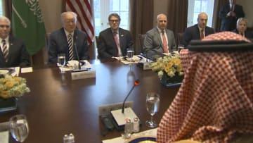 ترامب لمحمد بن سلمان: والدك اتخذ قرارا حكيما جدا.. وأفتقده