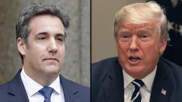 """حصريا.. تسجيل صوتي بين ترامب ومحاميه حول عارضة """"بلاي بوي"""""""