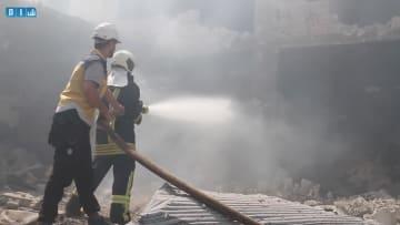 فيديو يزعم إظهار غارة روسية على إدلب.. ومقتل 5 أطفال على الأقل
