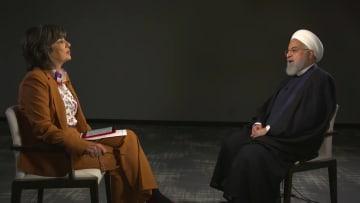 """روحاني يرد لـCNN على """"رغبات"""" الإطاحة بالنظام الإيراني؟"""