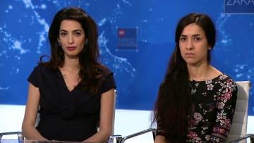 الأيزيدية نادية مراد تتحدث لـCNN عن مأساة اغتصابها من داعش