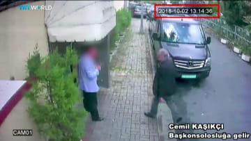 فيديو يظهر لحظة دخول خاشقجي إلى القنصلية السعودية باسطنبول