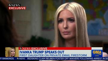إيفانكا ترامب: اختلف مع والدي على انفراد