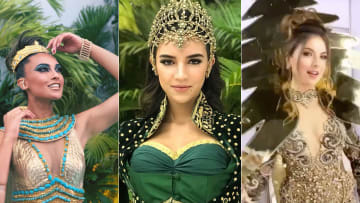 """ماذا ارتدت ملكات جمال الشرق الأوسط في عرض """"ملكة جمال الكون""""؟"""