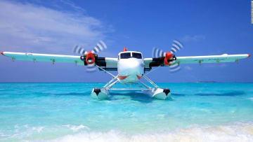 تعرف على طياري جزر المالديف الحفاة