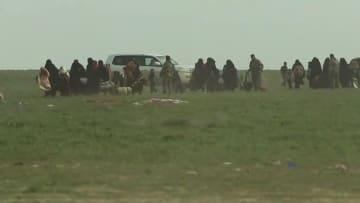 """""""سوريا الديمقراطية"""" على بعد كيلومتر من آخر جيب لداعش"""