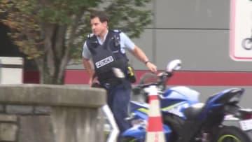 المشاهد الأولى بعد حادثة إطلاق النار في مسجدين بنيوزلندا