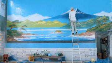 ستأخذك جداريات هذه الحمامات اليابانية إلى عالم آخر