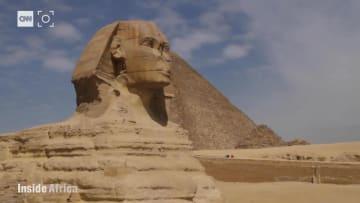 شاهد.. تاريخ مصر الخفي لايزال يفتن العالم