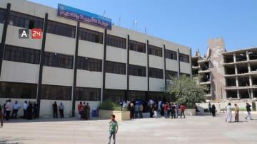 مدارس الرقة تفتح أبوابها بعد تأهيلها من الدمار وقت داعش