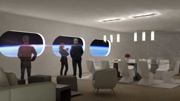 أول فندق فضاء في العالم..كيف سيبدو؟