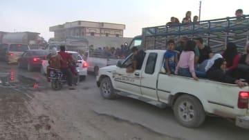 كاميرا CNN ترصد فوضى رأس العين السورية بعد هجمات تركيا
