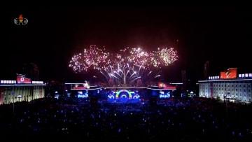 كوريا الشمالية تستقبل العام الجديد بعروض نارية مُبهرة