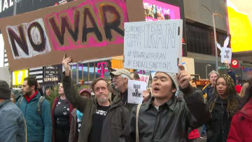 مظاهرات مناهضة للحرب بالقرب من البيت الأبيض