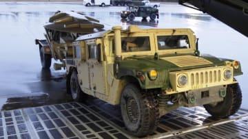 استعدادات القوات الأمريكية قبل التوجه إلى الشرق الأوسط