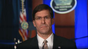 إسبر لـCNN: لا نتطلع إلى حرب مع إيران لكننا جاهزون لحسمها
