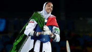 صاحبة الميدالية الأولمبية الوحيدة في إيران تعلن انشقاقها