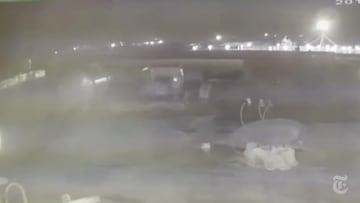 نيويورك تايمز تنشر فيديو للحظة استهداف الطائرة الأوكرانية بإيران
