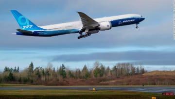 الأولى من نوعها.. طائرة بوينغ 777-9x تبدأ رحلتها التجريبية