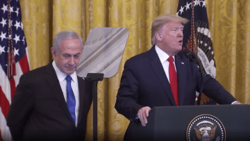 ترامب عن صفقة القرن: إسرائيل تتخذ خطوة كبيرة نحو السلام