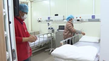 انتهاء عملية بناء أول مستشفى جديد لمرضى فيروس كورونا بالصين