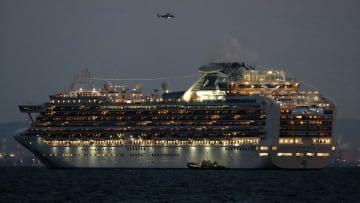 """حجر صحي على سفينة سياحية بسبب """"كورونا"""" في اليابان"""