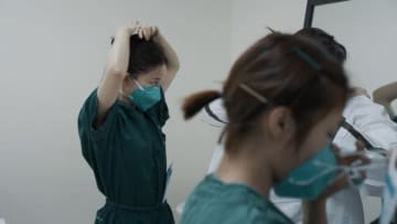 داخل أحد مستشفيات الحجر الصحي لفيروس كورونا في الصين