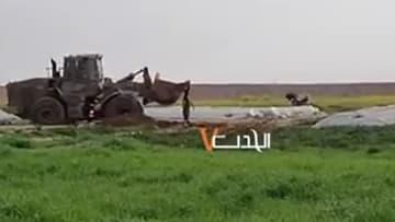 فيديو لجرافة تحمل جثمان فلسطيني يزيد التوترات بين إسرائيل وقطاع غزة
