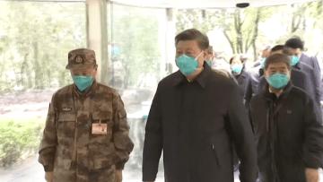 مؤشر على احتواء كورونا.. رئيس الصين في ووهان