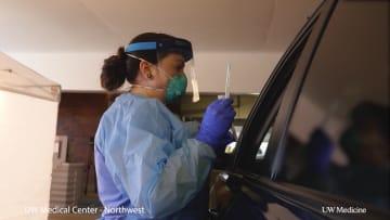 شاهد كيف يجري هذا المستشفى الأمريكي فحوصات فيروس كورونا