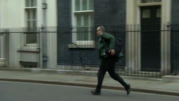 تداول واسع لفيديو هروب مستشار بوريس جونسون بعد إعلان إصابته بفيروس كورونا