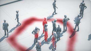 كيف يمكن للتباعد الاجتماعي أن يوقف انتشار فيروس كورونا الجديد؟